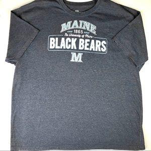 🌸MAINE UNIVERSITY Black Bear Graphic Tee Shirt